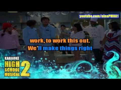 KARAOKE Work This Out - High School Musical 2