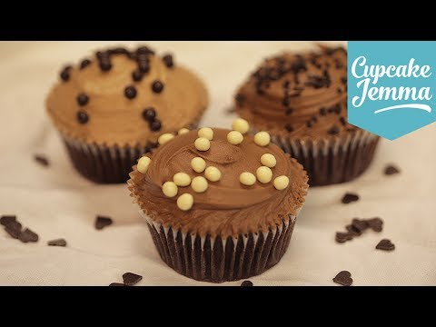 Save How to make Perfect Chocolate Buttercream | Cupcake Jemma Images