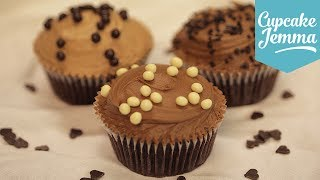 How To Make Perfect Chocolate Buttercream | Cupcake Jemma