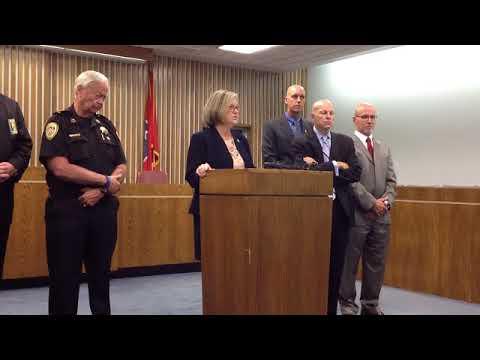 Eastern District of Tennessee U.S. Attorney Nancy Stallard Harr explains Sullivan County's addition