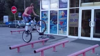 Вело-триал. Новосибирск.
