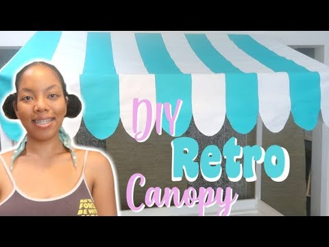Craft Show Booth Display | Retro Canopy