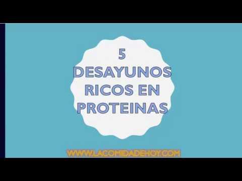 5 Formas Para Hacer Un Desayuno Proteico | 5 Desayunos Proteicos Para Deportistas