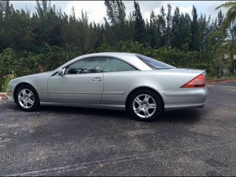 2003 mercedes cl500 project in the making youtube. Black Bedroom Furniture Sets. Home Design Ideas