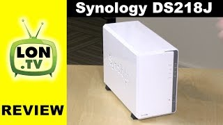 Synology DS218J Network Attached Storage / NAS Review - Entry Level Synology