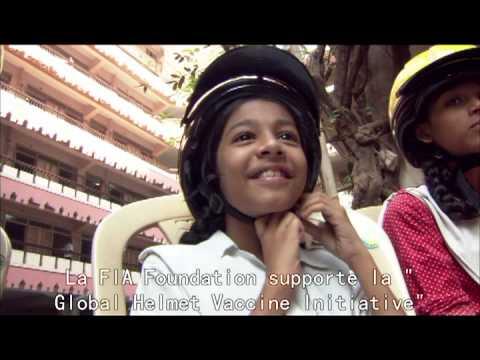 the Global Helmet Vaccine Initiative video clip