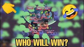EVERYONE IN LAST ZONE | WHO WILL WIN? | BRAWL STARS FUNNY MOMENT AND FAILS