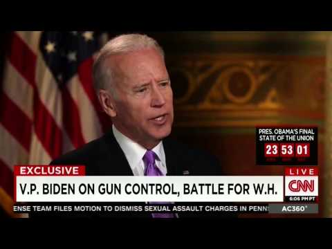 Joe Biden vs Ted Nugent on the 2nd Amendment