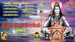Lord Siva Telangana Devotional Songs|Srisailam Lo Velasina Mallanna|Jukebox|