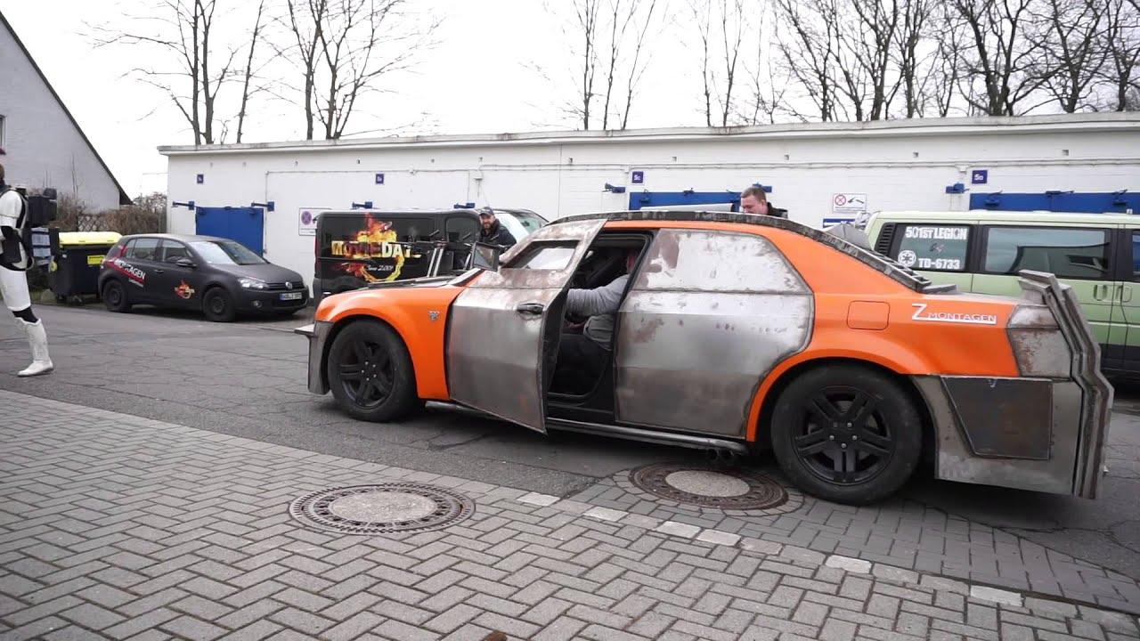 Death Race Movie Car Replica Chrysler 300c Video 3 Youtube