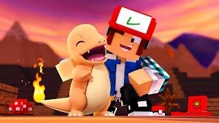 Minecraft: O MEU PRIMEIRO POKÉMON !!  (Parque Pokémon #01)