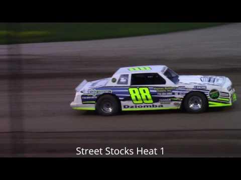 Ransomville Speedway Street Stock Heat Races 5-12-17