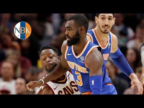 New York Knicks shock Cleveland Cavaliers 114 - 95; Tim Hardaway's Big Night!  Hot Take Reaction