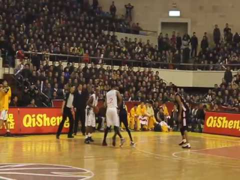 Shanxi Zhongyu vs. Guangdong Southern Tigers, second half
