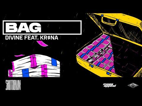DIVINE Feat. KR$NA - Bag | Official Lyric Video | SHUTDOWN
