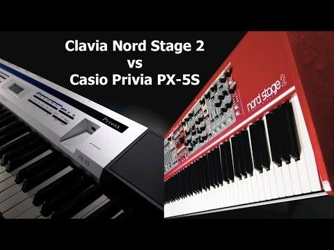 Nord Stage 2 vs Casio Privia PX-5S  BLIND piano Sound test ! Слепой тест звука.