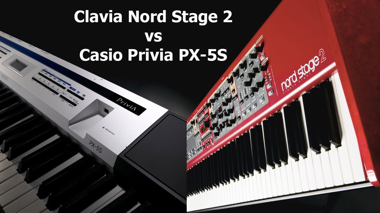 nord stage 2 vs casio privia px 5s blind piano sound test youtube. Black Bedroom Furniture Sets. Home Design Ideas