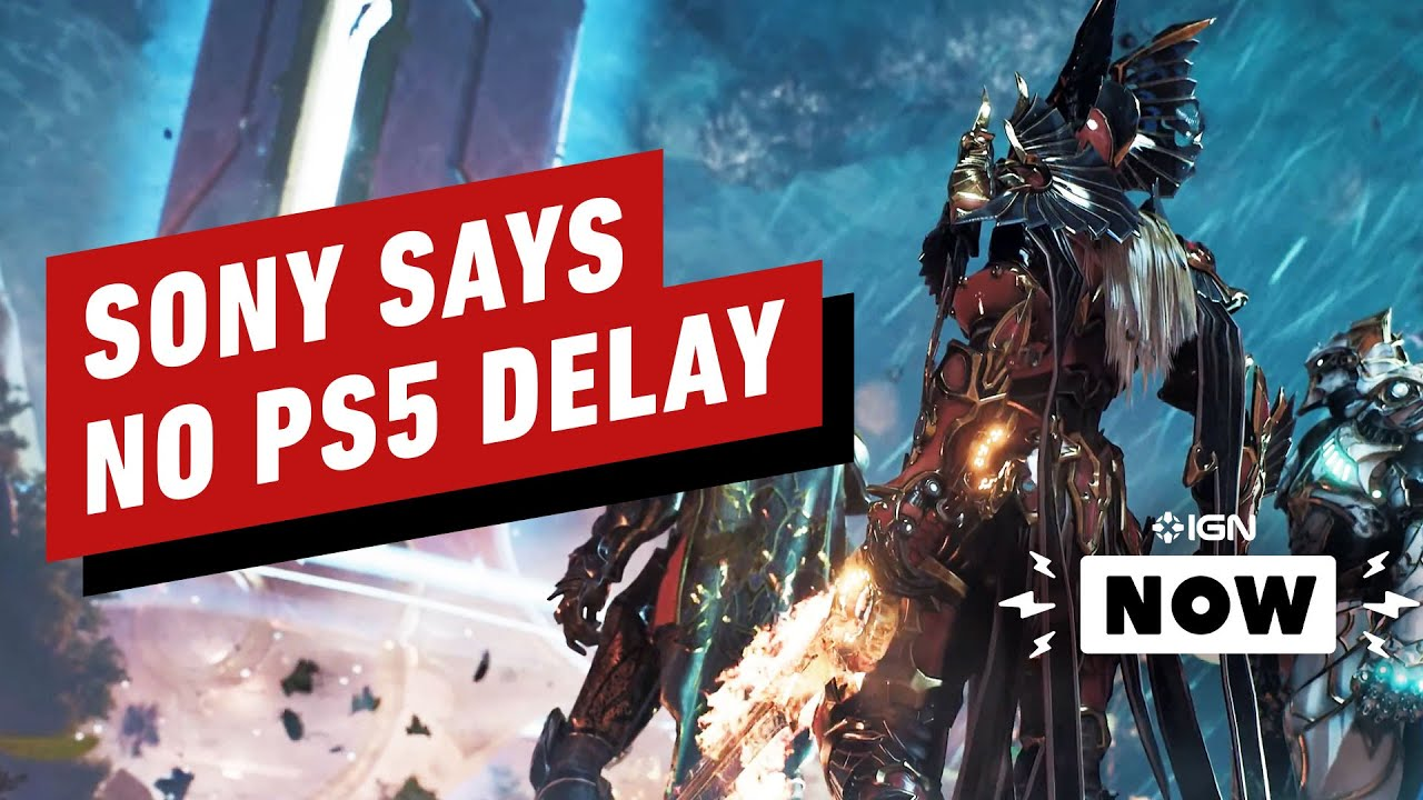 PS5: Sin demora debido a COVID-19, dice Sony - IGN Now + vídeo