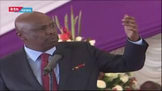 Gideon Moi's speech at Mark Too's funeral
