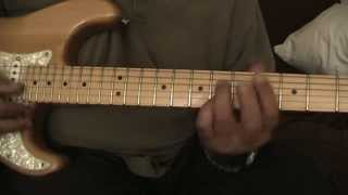 blues guitar passing chords lesson