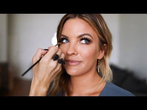 Makeup tutorial with Emma Willis!   Becca Tilley