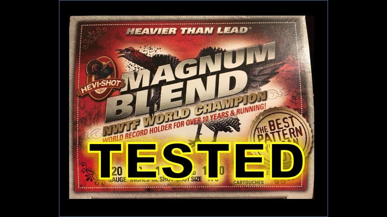 Hevi Shot Magnum Blend 20 Gauge Turkey Load Test and Review - RGO Ep 70