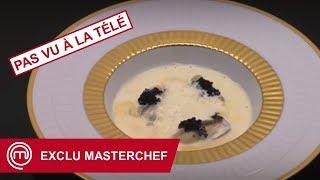 [EXCLU MASTERCHEF FRANCE] L'entrée de Noël de Xavier : Huîtres pochées