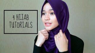 Most Wear Hijab Tutorials. [Pashmina & Chiffon Shawls]|| Joanna R.