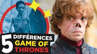 7 DIFFERENCES GAME OF THRONES: BOOKS vs SERIES