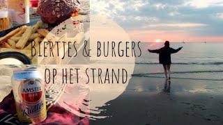 Dagje mee-eten met Irene 16   Biertjes en burgers op het strand   Proud2Bme.nl