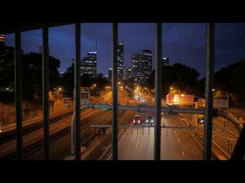 Sydney Video Walk 4K - Light The City Spring 2017