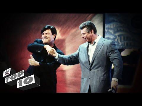 WWE Debuts of WCW Legends: WWE Top 10 thumbnail