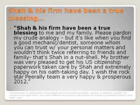 Reviews of Immigration Lawyer in California - Shah Peerally, Esq.