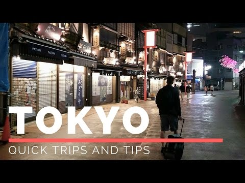 Quick Trips and Tips: Tokyo Japan