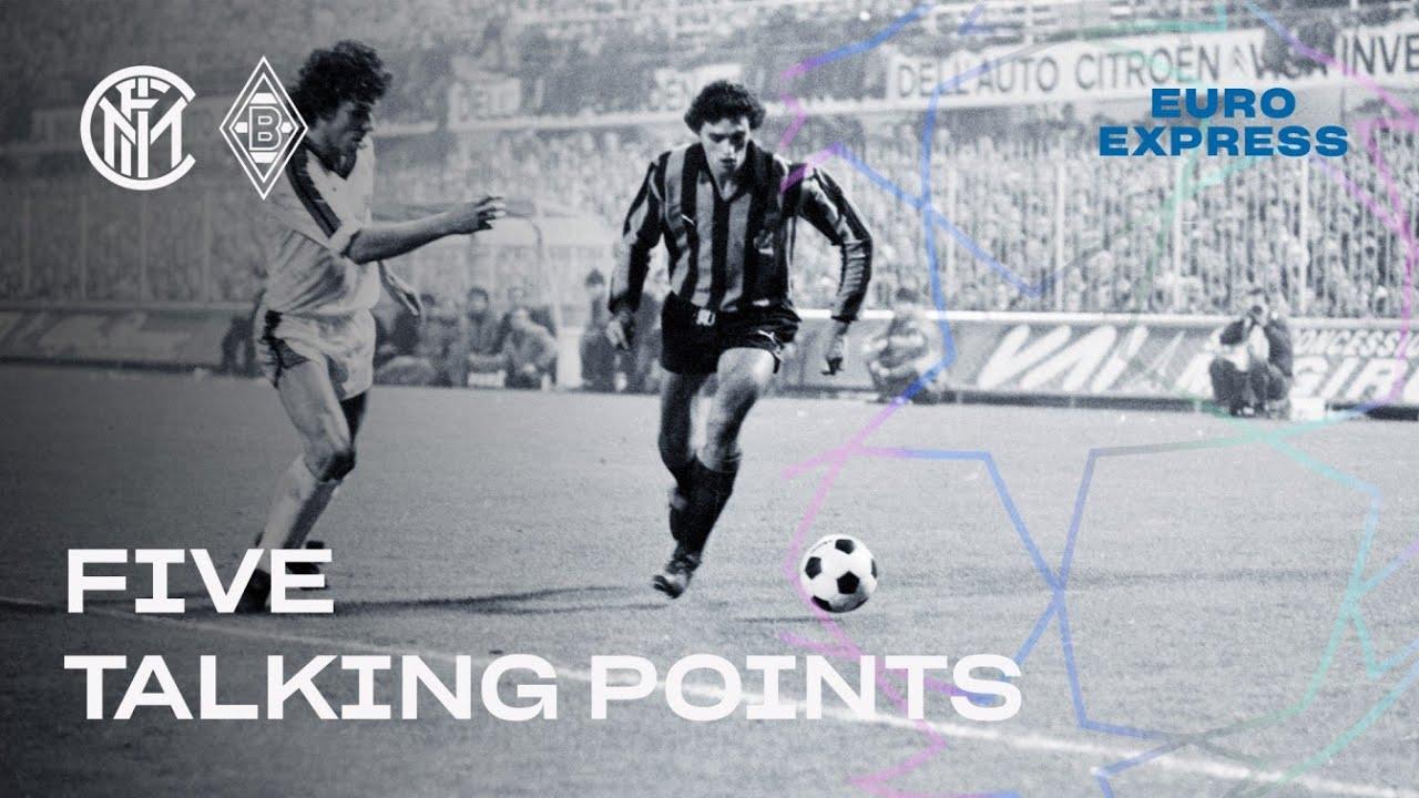 INTER vs BORUSSIA | FIVE TALKING POINTS | EURO EXPRESS | CHAMPIONS LEAGUE 20/21 ??⚫? [SUB ITA+ENG]