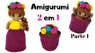 Boneca Duda oriental amigurumi no Elo7 | Crochetados por Angela ... | 180x320