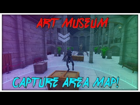 Is This The Best Capture Area Map On Fortnite?! (Art Museum)