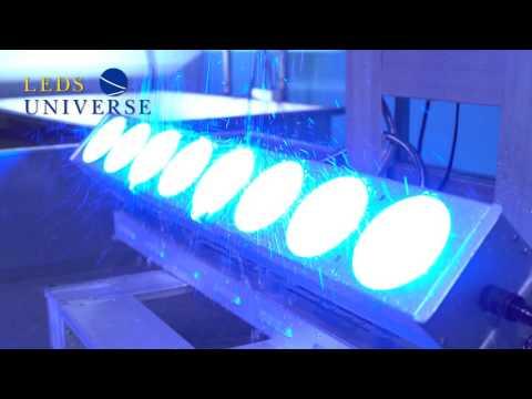 LED Lights - Underwater Test - Waterproof Fixtures - LedsUniverse