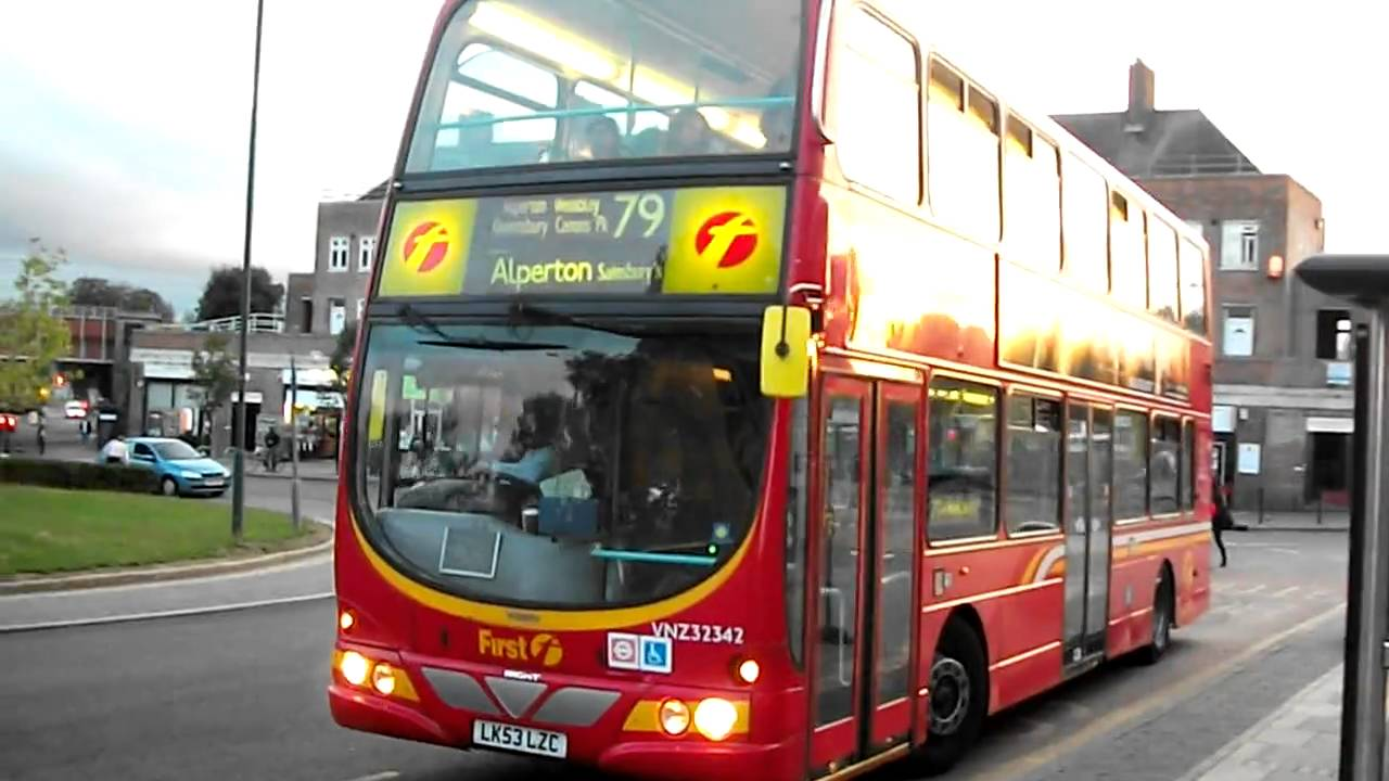 London Bus Route 79 At Queensbury Station Youtube