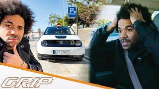 Der Honda e im Elektro-Check I Einpark-Crash! I GRIP