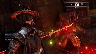 For Honor: PS4 Rep 50 Nobushi Duels