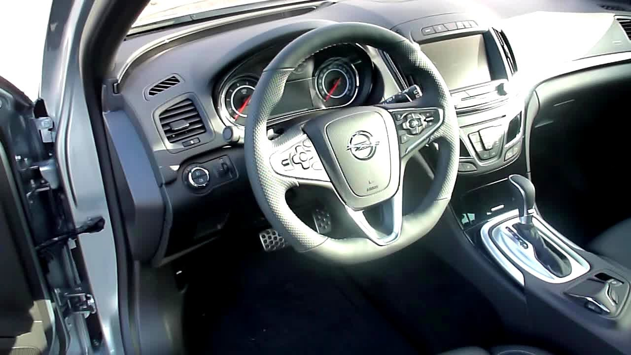 2014 Opel Insignia Country Tourer 2.0 CDTI Interieur in Detail - YouTube