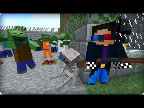 Чуть не спалили! [ЧАСТЬ 8] Зомби апокалипсис в майнкрафт! - (Minecraft - Сериал)