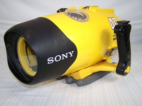 SONY 40M HANDYCAM MARINE PACK MPK-F40 200593 CAMERA HOLDER HOUSING