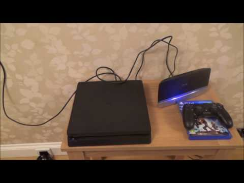 How To CONNECT up your PS4 Slim Console to the INTERNET for Beginners