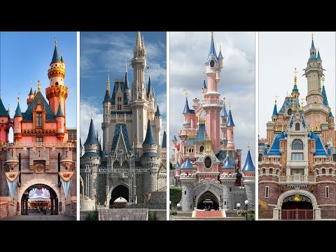 Evolution Of Castles In Disney Theme Parks! DIStory Episode 3: Disney Theme Park History