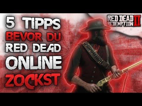 5 Tipps bevor du Red Dead Online zockst - Mach diesen Fehler nicht in Red Dead Online