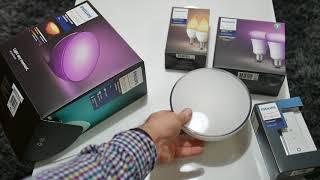 Probando Philips HUE. Lightstrips y HUE GO en Español