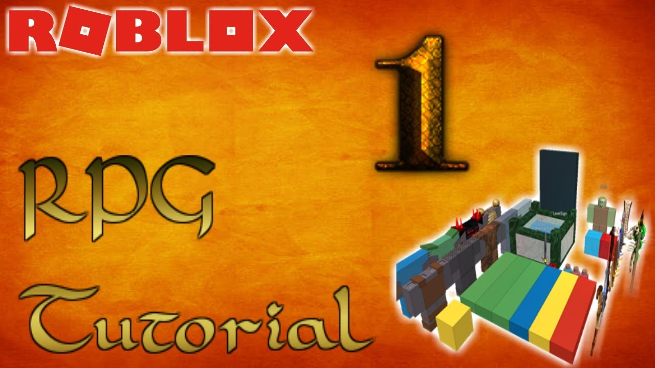 ROBLOX How-To Make an RPG Game! - Part 1 - Basics - YouTube