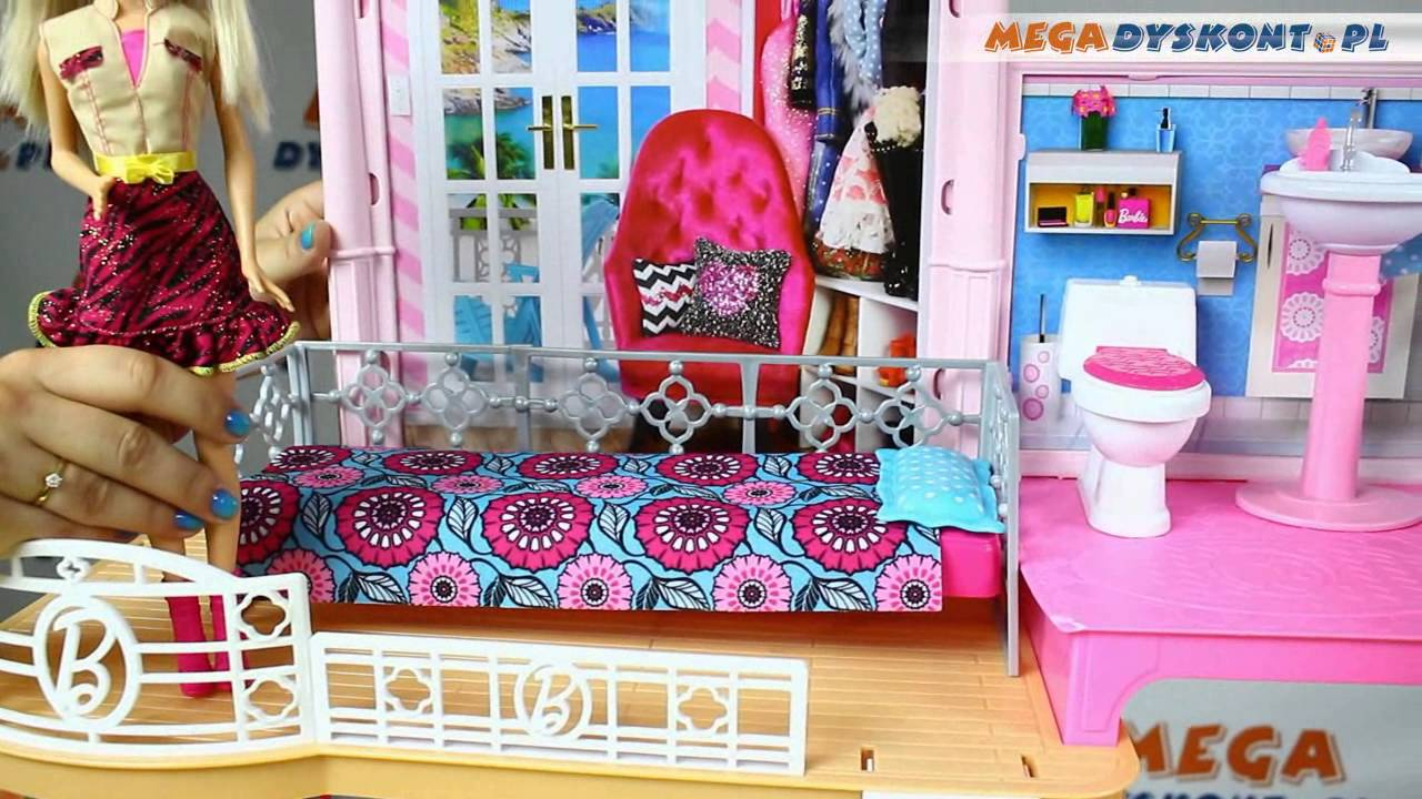 barbie my style house barbie stylowy domek mattel. Black Bedroom Furniture Sets. Home Design Ideas